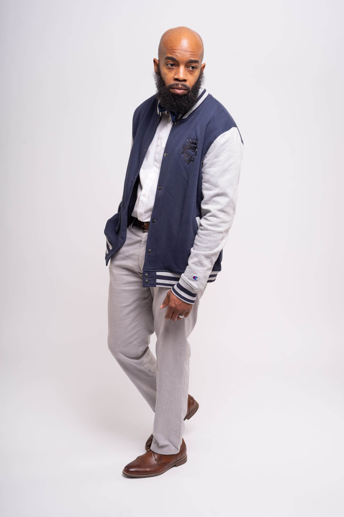 King and Lord Apparel Bomber Jacket